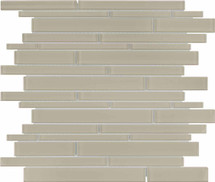 Element Earth Random Strip Glass Mosaics (35-095)
