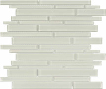 Element Sand Random Strip Glass Mosaics (35-062)