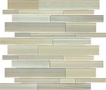 Fusion Plantation Random Strip Glass Mosaics