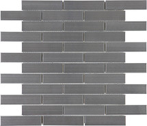 Stainless Steel Brick Mosaics 1x4