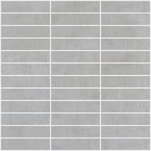 Loft 2.0 Cemento 1x4 Mosaic on 12x12 Sheet