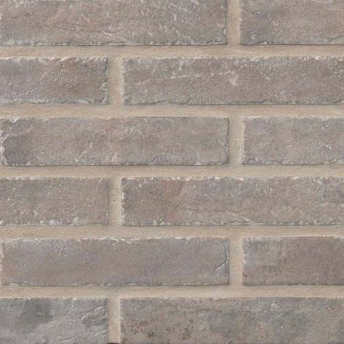 Capella Collection - Taupe Brick Matte Porcelain 2x10