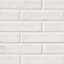Capella Collection - White Brick Matte Porcelain 2x10