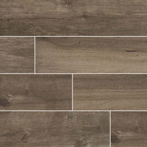 Palmetto Collection - Smoke Porcelain 6x36