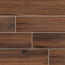 Palmetto Collection - Walnut Porcelain 6x36