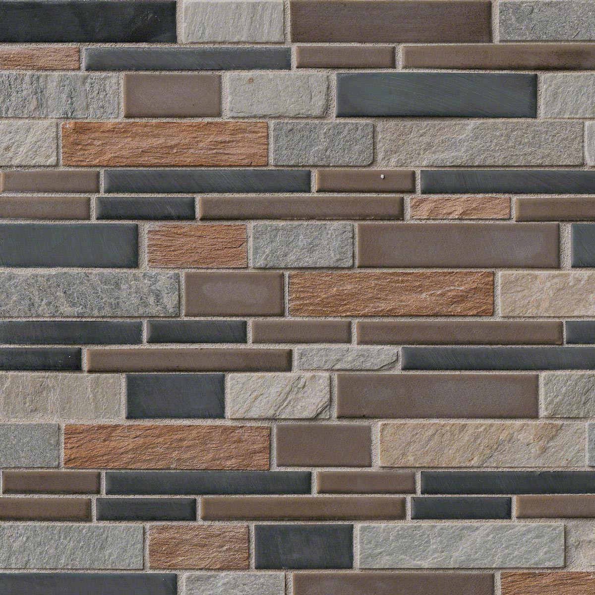 Cobrello Interlocking Patterned Mosaic On 12x12 Sheet