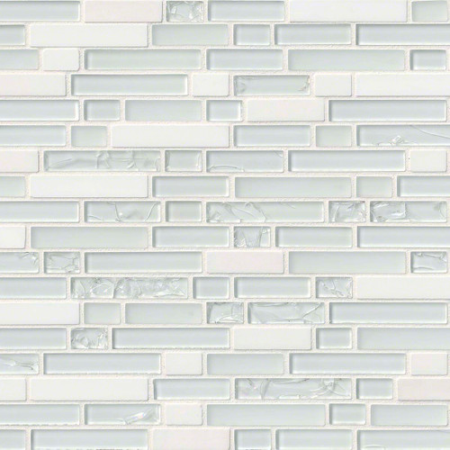 Delano Blanco Mixed Random Mosaic 12x12 Sheet