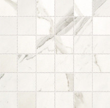 Roma Collection - Statuario Marco Mosaic 2x2