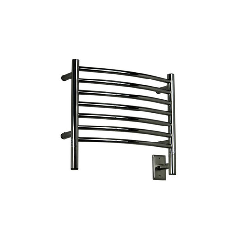 "Jeeves Collection - Model H Curved - Polished - Heated Towel Rack 20.5"" x 18"""