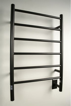 "Jeeves Collection - Model J Straight - Oil Rubbed Bronze - Heated Towel Rack 20.5"" x 31"""
