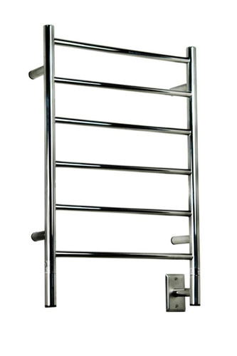 "Jeeves Collection - Model J Straight - Polished - Heated Towel Rack 20.5"" x 31"""