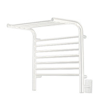 "Jeeves Collection - Model M Shelf - White - Heated Towel Rack 20.5"" x 22"""