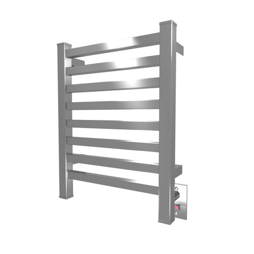 Quadro Collection Model Q 2016 Polished Heated Towel Rack 20 X 16