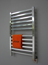 """Quadro Collection - Model Q 2033 - Polished - Heated Towel Rack 20"""" x 33"""""""