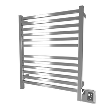 """Quadro Collection - Model Q 2833 - Brushed - Heated Towel Rack 28"""" x 33"""""""
