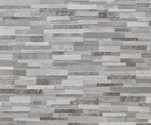 Cubics Collection - Grey Decorative 3D Porcelain 6x24