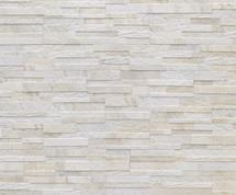 Cubics Collection - White Decorative 3D Porcelain 6x24