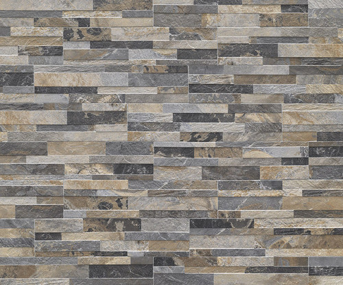 Cubics Collection - Multi-Color Decorative 3D Porcelain 6x24