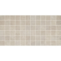 "Affinity - Gray Ceramic Mosaic 2"" x 2"" On 12"" x 24"" Sheet"