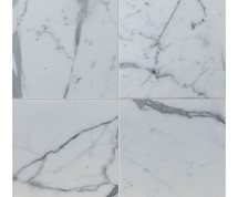 "Statuario Venato - Polished Stone Tile 12"" x 12"""