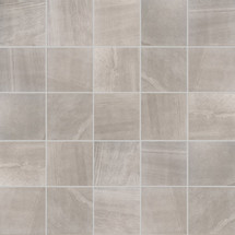 """Sands Collection - Grey Sand Natural Mosaic 2"""" x 2"""" On 12"""" x 12"""" Sheet"""