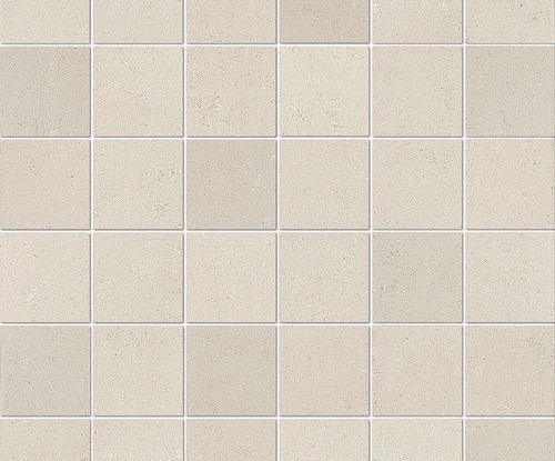 "Re_Micron Collection - White Natural Mosaic 2"" x 2"" On 12"" x 12"" Sheet"