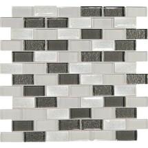 Crystal Ss Diamond Delta Gl Brick Joint Mosaic 2 X 1 On 11