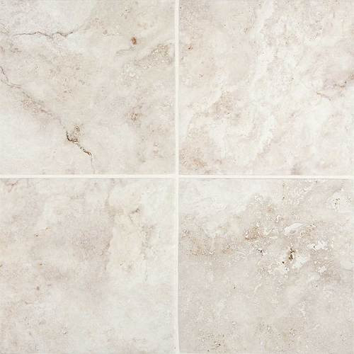 Esta Villa Collection - Garden White Porcelain 12x12