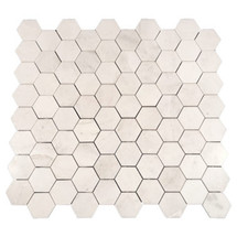"Eastern White Honed Hexagon 2.75"" (SWEEHEXHON)"