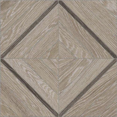Aspen French Oak 16x16 Marquetry Mosaic