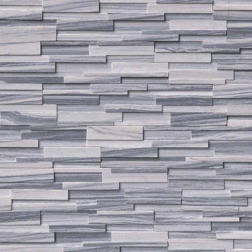 Ledger Panel Alaska Gray 3D Honed Panel 6x24 (LPNLMALAGRY624-3DH)