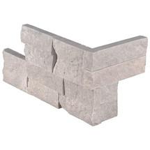 "Ledger Panel Iceland Gray Splitface ""L"" Corner 6x12x6 (LPNLTICEGRY618COR)"