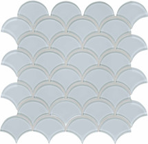 Element Skylight Scallop Glass Mosaics (35-113)