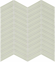 Element Sand Chevron Glass Mosaics (35-126)