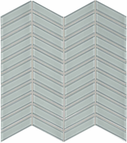 Element Cloud Chevron Glass Mosaics (35-127)