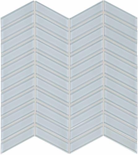 Element Skylight Chevron Glass Mosaics (35-129)