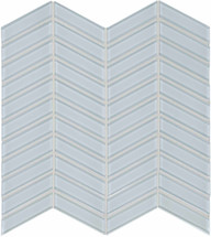Element Skylight Chevron Glass Mosaics (35-129)