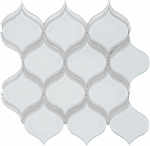 Element Ice Arabesque Glass Mosaics (35-138)