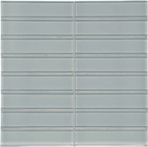 "Element Shadow Stacked Glass Mosaics 1.5"" x 6"" (35-120)"