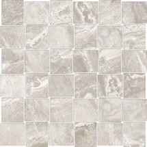 Mayfair Stella Argento 2x2 HD Basketweave Polished Porcelain Mosaics (69-907)