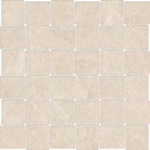 Mayfair Allure Ivory 2x2 HD Basketweave Polished Porcelain Mosaics (69-908)