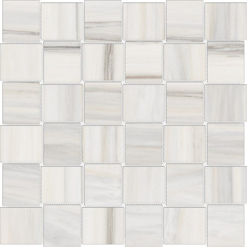 Mayfair Zebrino 2x2 HD Basketweave Polished Porcelain Mosaics (69-952)