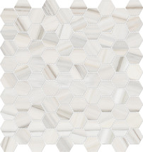 Mayfair Zebrino 1.25x1.25 HD Hexagon Polished Porcelain Mosaics (69-964)