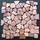 Tumbled Marble Mosaic Nassau 12x12 Seamless Interlocking (TOETMMNAS1212)
