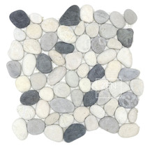 Seaside Mix Pebbles 12x12 (ZPP011)