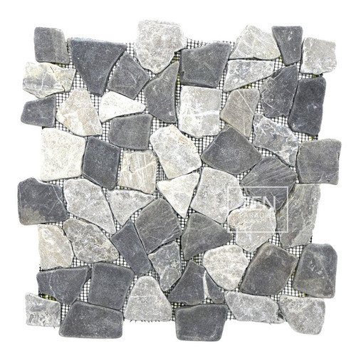 Storm Grey Mix Mosaic 12x12 (ZPM010)