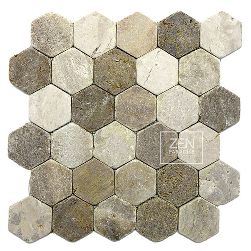 Beach Mix Hexagon 13x13 (ZPH001)