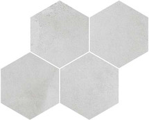 Derby Gris 17x12 Hexagon Mosaic (FZ5T3GW021)