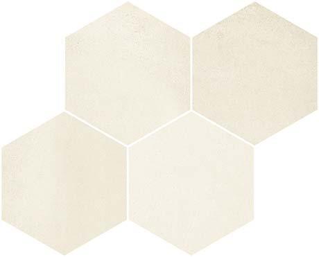 Derby Beige 17x12 Hexagon Mosaic (FZ5T3GW041)
