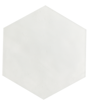 Maiolica White 7x8 Hexagon Wall Tile (MAIW081-78H)